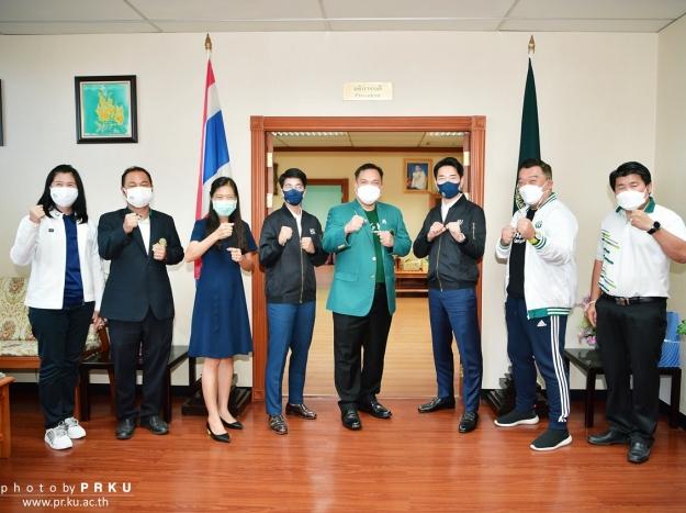 ต้อนรับ ดร. ชเว ย็อง-ซ็อก และผู้ช่วยโค้ชชนาธิป ช้อนขำ
