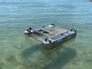 เรือเก็บขยะลอยน้ำชนิดไอพ่น KU Trash Sweeper V3  นวัตกรรมเพื่อสิ่งแวดล้อม