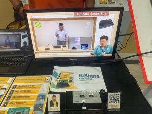 B-Share Smart Box คว้ารางวัลชนะเลิศ